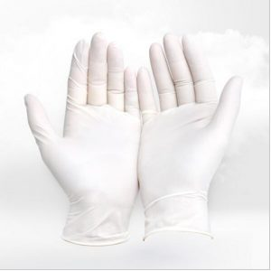 100pcs/lot disposable latex gloves medical laboratory food operation Clean the dishes housework waterproof rubber gloves