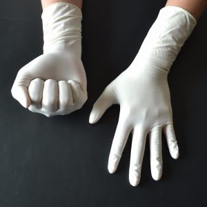 10pairs XS Code Disinfecting Surgical Non-toxic Natural Latex Gloves Disposable Sterile Unbreakable Medical Operation Supplies