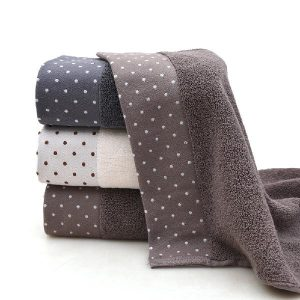 AsyPets 32-strands Plain Colour Cotton Water-absorbing Bathroom Towel for Bath Beach-30