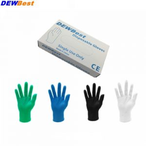 Disposable latex gloves medical laboratory food operation Clean the dishes housework waterproof rubber gloves  50pieces /pack