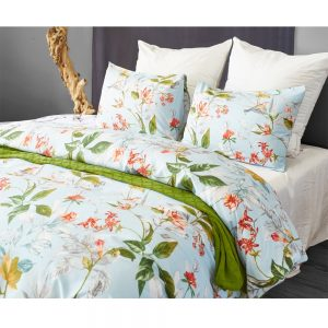 Floral Printed duvet cover set microfiber fabric flower bedding set king queen twin size for home hotel bedding