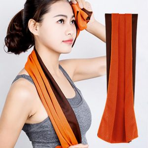 ISHOWTIENDA 2017 Rapid Cooling Sports Towel Microfiber Fabric Quick-Dry Ice Towels Fitness Yoga Climbing Exercise Outdoor Towel