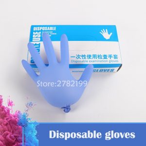 New 100pcs/lot disposable latex gloves medical Clean the dishes housework waterproof rubber laboratory gloves food operation