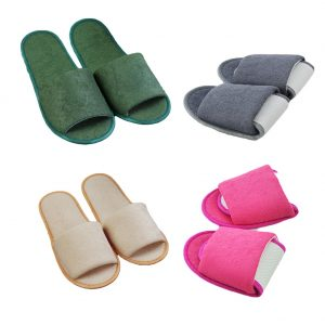 New Simple Slippers Men Women Hotel Travel Spa Portable Folding House sliedes Disposable Home Indoor Slippers Shoes